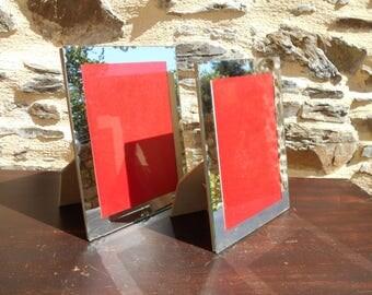 Beautiful French Mirror photo frame, circa 1950's