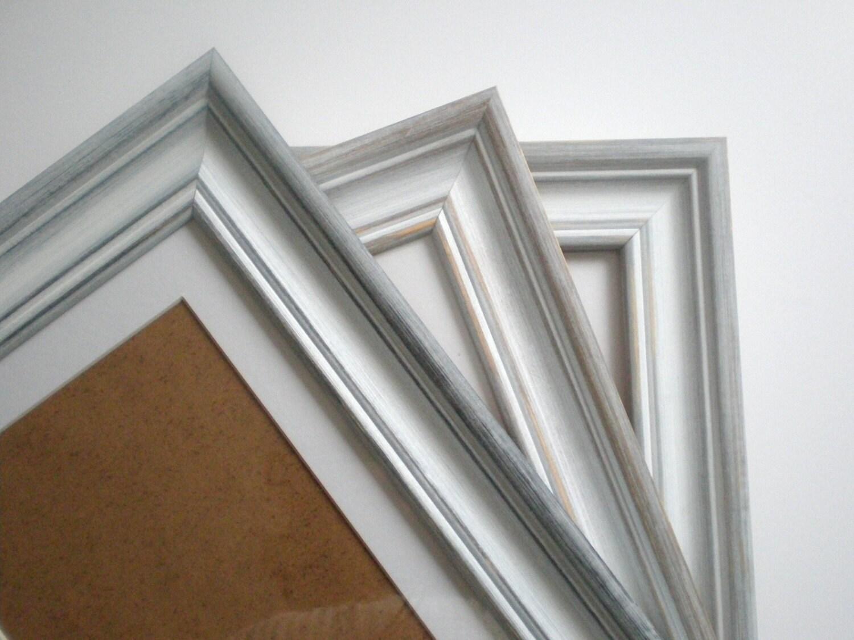 grey white frame picture frame photo frame a3 poster frame. Black Bedroom Furniture Sets. Home Design Ideas