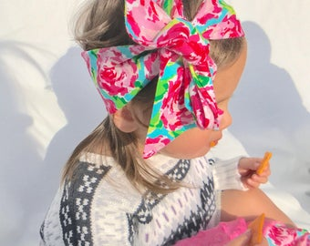 New Baby Bow Headwrap