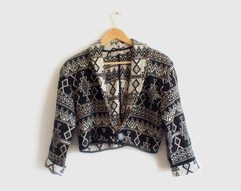 vintage southwestern shortwaist jacket
