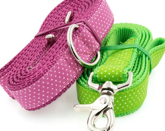 Polka Dot Dog Lead -- Matches my Personalized Polka Dot Dog Collars