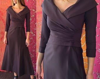 Tadashi Dress Evening Dress Vintage Tadashi Gown Vintage 1980s Tadashi Evening Gown