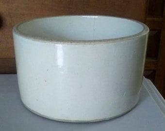Gray Crock, Small Crock, Antique Crock, Stoneware Crock, Primitive Crock, Vintage Crock, Pottery Crock, Rustic Crock, Farmhouse, Crockery