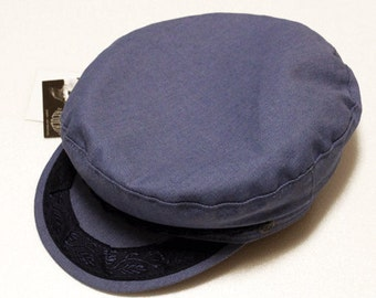 Deadstock!! Greek denim fisherman hat made in greece