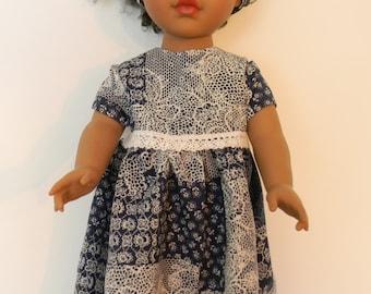 Summer Dress 18In Dolls, Dress 18in Dolls, Summer dress for 18 in Dolls, 18 Inch Doll Dress, Doll Dress, 18In doll Dress