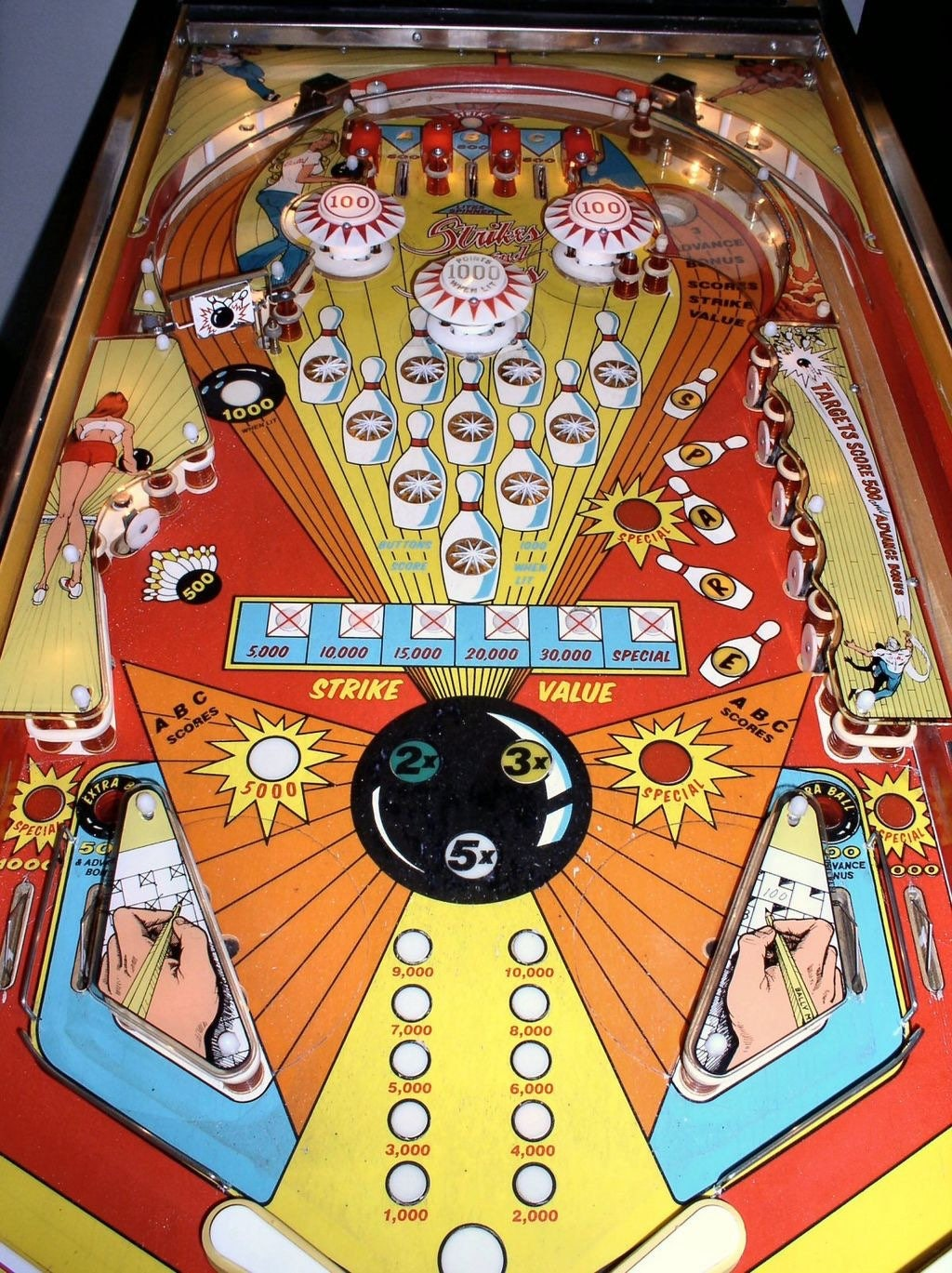 Custom bowling themed pinball machine coffee table made with zoom geotapseo Image collections