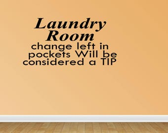 Laundry Room Quote Etsy - Custom vinyl wall decals sayings for laundry room