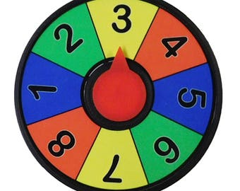 Prize Wheel Refrigerator Magnet 4 inch Spinner Free Shipping