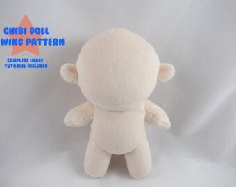 PlanetPlush Chibi Doll Minky Plush Pattern