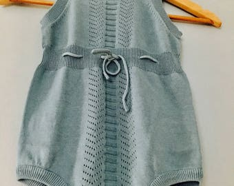 Chaconia Dolls baby knit romper