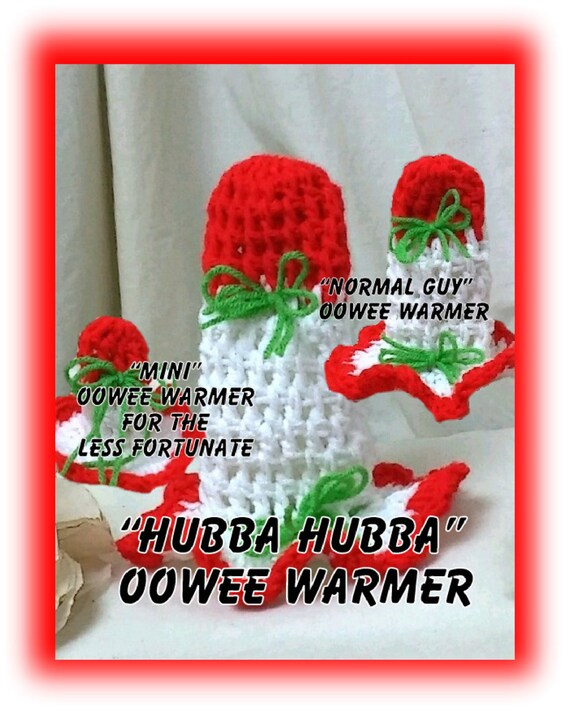 OOWEE WARMER . . Your Color Choice . . Pick Your Perfect Fit . . Hysterical Gag Gifts