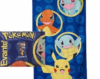 Pokémon Beach Towel Team Beach Towel - Pokemon Personalized Beach Towel