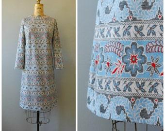 Blumenfeld dress • 1960s shift dress