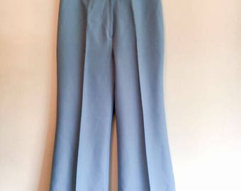 70s light blue flares