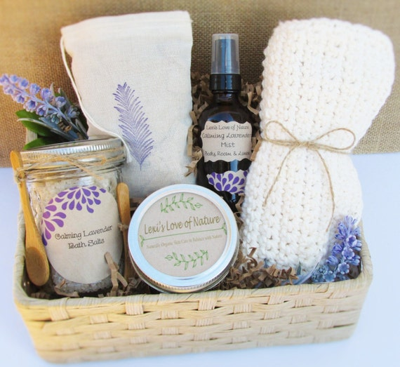 Wedding Gift Ideas For Coworkers: Spa Gift Basket Mom Gift Stress Relief Gift Basket Bath