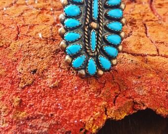 Navajo brass petit point