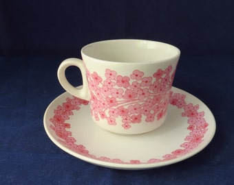 Arabia Leena, coffee cup and saucer.