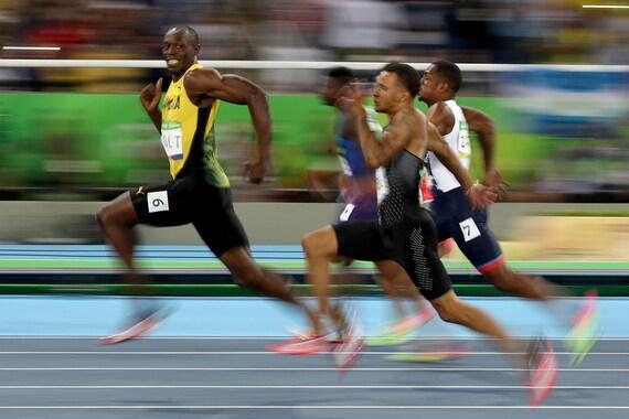 "Usain Bolt Smiling Face Jamaica Track and Field Sprint Runner Olympics Sport Winner Art Wall Decor Print Poster Size 13x20"" 24x36"" 32x48"" #1"