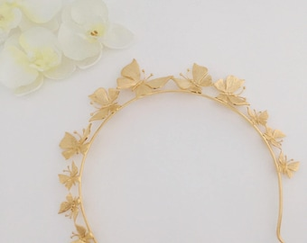 Butterfly, butterfly headband, butterfly headpiece, butterfly tiara, tiara, headpiece, bridal headpiece, headband, bridal headband