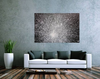 Original abstract artwork on canvas ready to hang 100x150cm #466