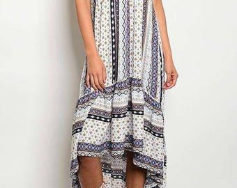 Journey - Bohemian maxi dress, womens dress, boho dress