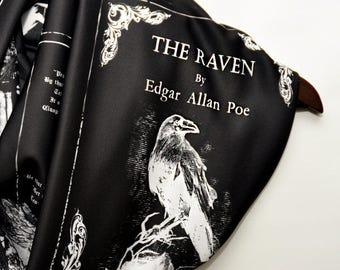 Edgar Allan Poe The Raven Infinity Scarf