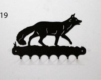 Hangs key pattern metal: Fox