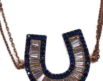 Horseshoe Lucky Pave Bracelet FREE shipping