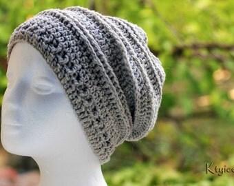 Bonnet femme été - Crochet hat summer