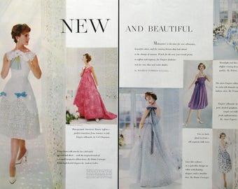 1958 Summer Dresses for Stylish Women - 1950s Women's Fashion Trends