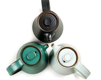 Dehua Design Ceramic Teapot Retro Style Porcelain Teapot, Kongfu Teaset Teapot in 3 Colors