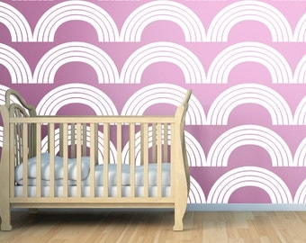 Arches Wall Stencil  Pattern Stencil, in reusable Mylar