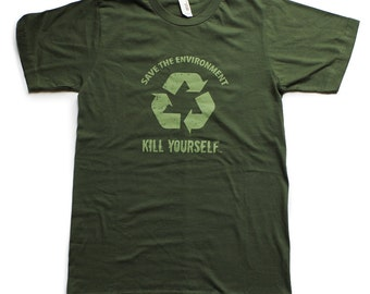 Save the Environment, KYS - Unisex Shirt [II] - By Denis Caron - Corvink