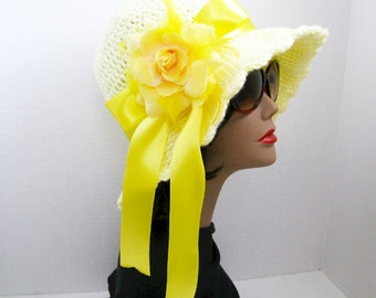 Good Morning Sunshine An Innate Expressions' Sun Hat - READY TO SHIP