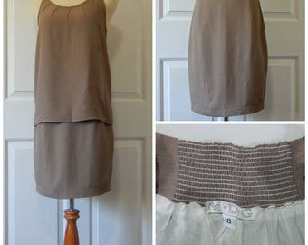 SALE Vtg Skirt Suit Small Camisole Textured New Old Stock USA Made (R7-16)