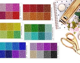 Glitter Headers Stickers for your Erin Condren/IWP/Happy Planner
