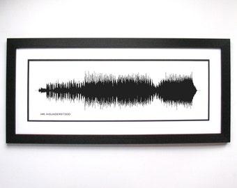 Mr. Misunderstood - Art Print, Framed Print, or Canvas - Music/Song Wall Art - Country Fan Gift Idea