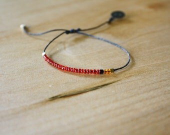 Northern Cardinal Bracelet