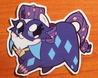 Power Pony Chubs! Radiance Sticker