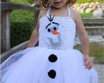 Brand New Frozen Tulle Fluffy Fairy Girl Dress
