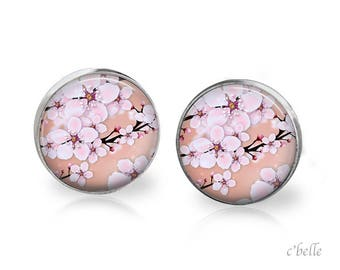 Earrings cherry blossoms 71