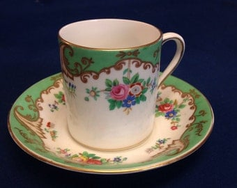 tuscan blenheim english fine bone china demitasse cup and saucer