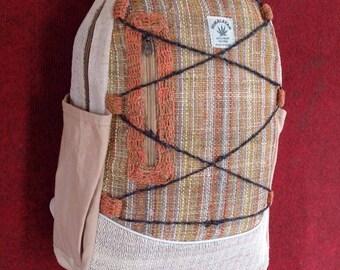 Eco Friendly THC Free Pure Hemp Backpack
