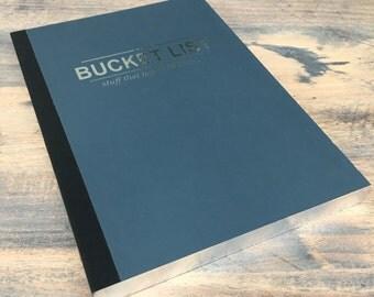Bucketlist notebook lined A5 (NB01)