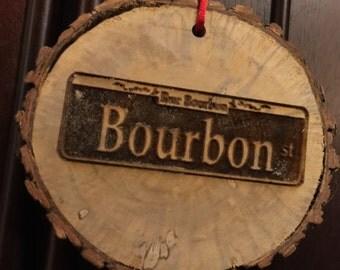 Bourbon Street Ornament / NOLA Ornament / New Orleans Ornament