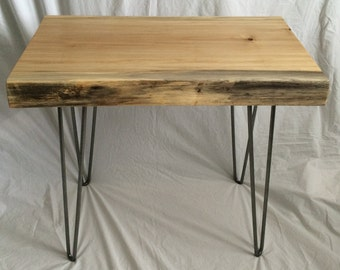 Live Edge Cottonwood End / Side Table
