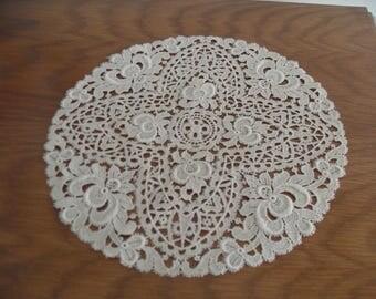 antique lace doily  home decoration