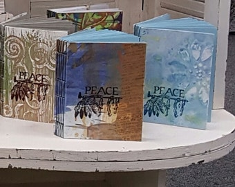 hand painted paperbacks