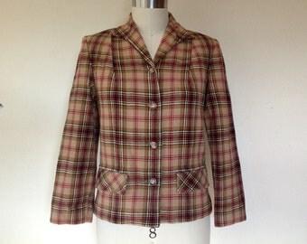 1970s Plaid Pendleton jacket