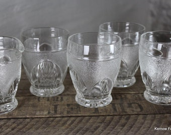 Set 4 Vintage Glasses & Jug